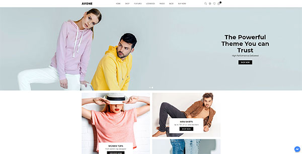 aperçu theme shopify