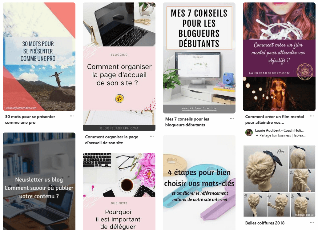 fil actualite pinterest feed