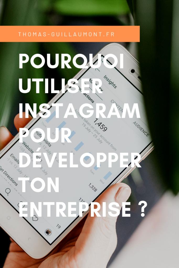 pourquoi utiliser instagram pour developper ton entreprise epingle pinterest