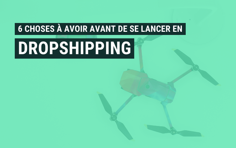 choses avoir dropshipping